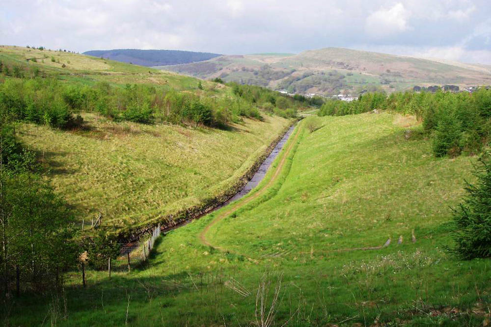 Environmental improvements to a tip site in South Wales