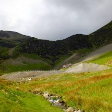 Force Crag mine water treatment scheme, near Keswick, Cumbria