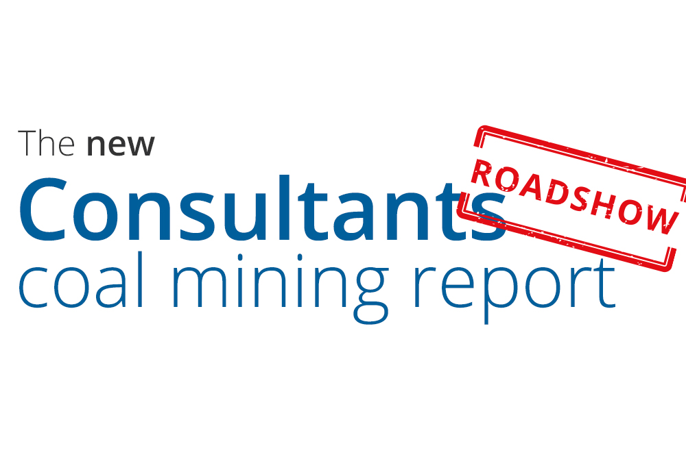 Consultants coal mining report roadshow