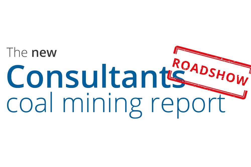 Consultants coal mining report roadshow