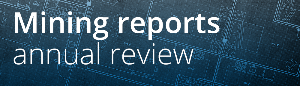 Mining reports annual review