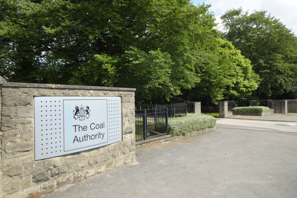 Coal Authority Entrance