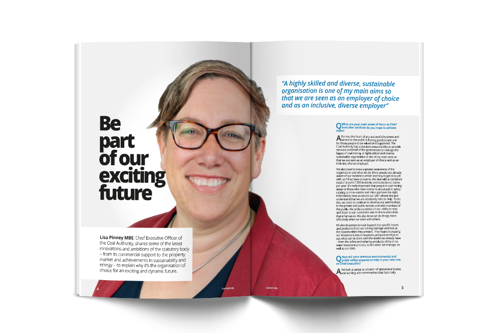 Lisa Pinney MBE in Modern Law magazine feature