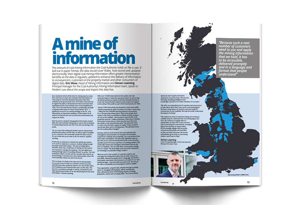 Modern Law mine of information article