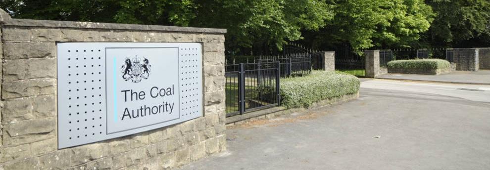 Coal Authority entrance