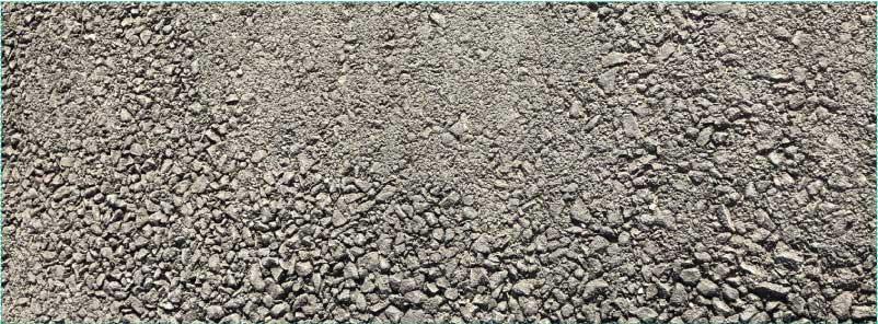 Option B: asphalt finish